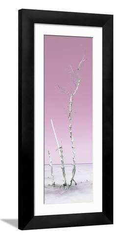 Cuba Fuerte Collection Panoramic - Ocean Nature - Pastel Pink-Philippe Hugonnard-Framed Art Print