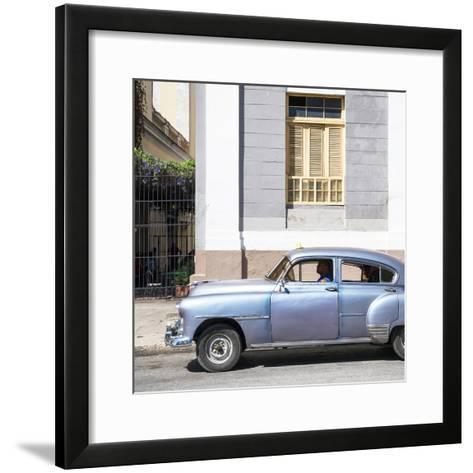 Cuba Fuerte Collection SQ - Old Taxi-Philippe Hugonnard-Framed Art Print