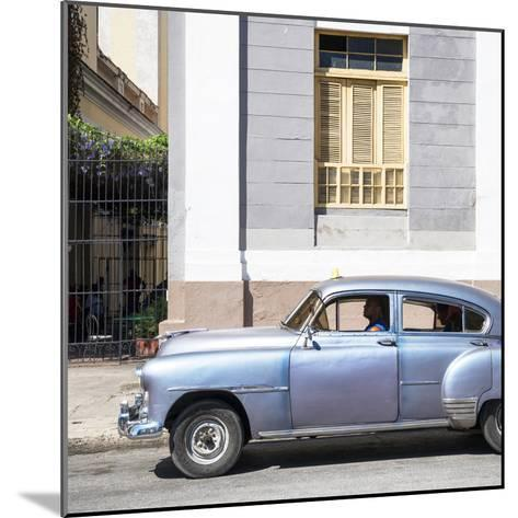 Cuba Fuerte Collection SQ - Old Taxi-Philippe Hugonnard-Mounted Photographic Print
