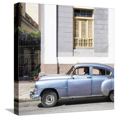 Cuba Fuerte Collection SQ - Old Taxi-Philippe Hugonnard-Stretched Canvas Print