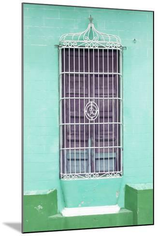 Cuba Fuerte Collection - Colorful Cuban Window IV-Philippe Hugonnard-Mounted Photographic Print