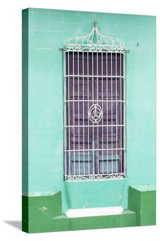 Cuba Fuerte Collection - Colorful Cuban Window IV-Philippe Hugonnard-Stretched Canvas Print