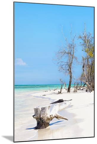 Cuba Fuerte Collection - White Sand Beach II-Philippe Hugonnard-Mounted Photographic Print