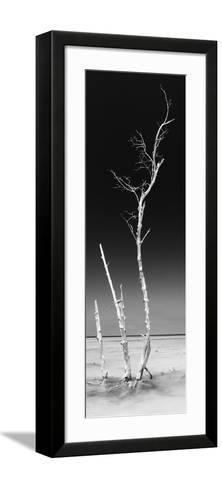 Cuba Fuerte Collection Panoramic BW - Ocean Nature-Philippe Hugonnard-Framed Art Print