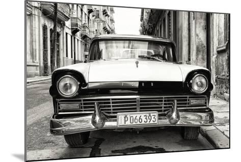 Cuba Fuerte Collection B&W - Vintage Cuban Ford-Philippe Hugonnard-Mounted Photographic Print