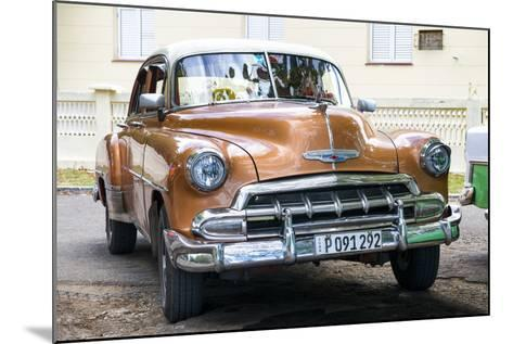 Cuba Fuerte Collection - Brown Taxi-Philippe Hugonnard-Mounted Photographic Print