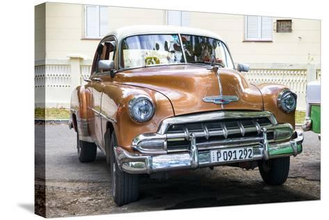 Cuba Fuerte Collection - Brown Taxi-Philippe Hugonnard-Stretched Canvas Print
