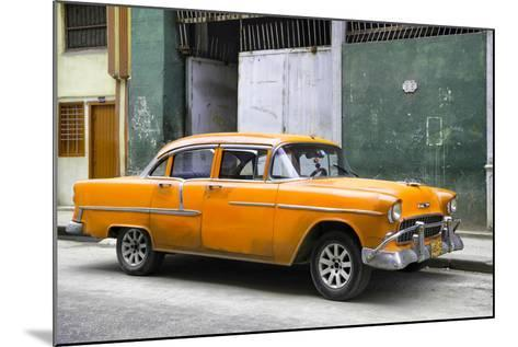 Cuba Fuerte Collection - Orange Chevy-Philippe Hugonnard-Mounted Photographic Print