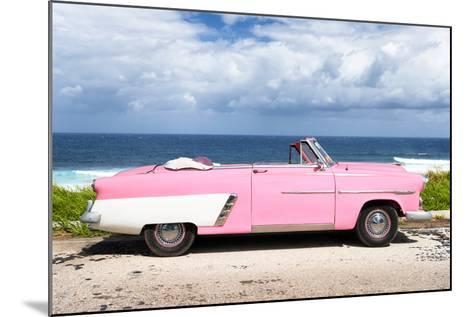 Cuba Fuerte Collection - Pink Car Cabriolet-Philippe Hugonnard-Mounted Photographic Print