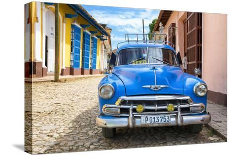 Cuba Fuerte Collection - Cuban Classic Car-Philippe Hugonnard-Stretched Canvas Print