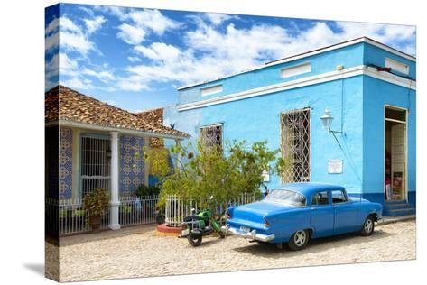 Cuba Fuerte Collection - Street Scene in Trinidad-Philippe Hugonnard-Stretched Canvas Print