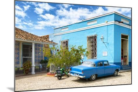 Cuba Fuerte Collection - Street Scene in Trinidad-Philippe Hugonnard-Mounted Photographic Print