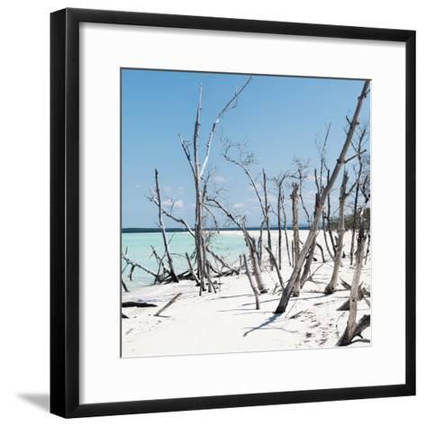 Cuba Fuerte Collection SQ - Tropical Wild Beach-Philippe Hugonnard-Framed Art Print
