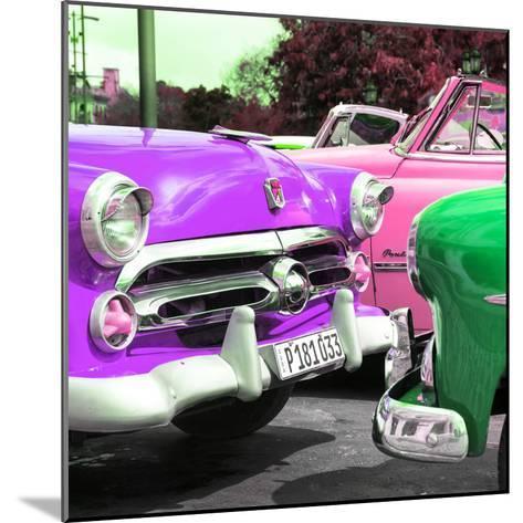 Cuba Fuerte Collection SQ - Havana Vintage Classic Cars-Philippe Hugonnard-Mounted Photographic Print