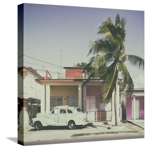 Cuba Fuerte Collection SQ - Sunday Afternoon III-Philippe Hugonnard-Stretched Canvas Print