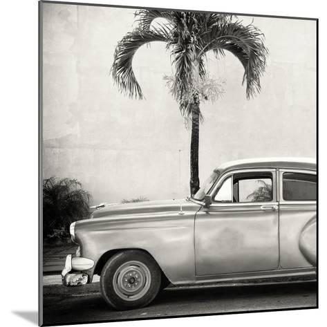 Cuba Fuerte Collection SQ BW - Beautiful Retro Car-Philippe Hugonnard-Mounted Photographic Print