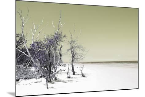 Cuba Fuerte Collection - Sandy Beach Pastel Olive-Philippe Hugonnard-Mounted Photographic Print