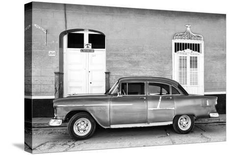 Cuba Fuerte Collection B&W - 266 Street Trinidad II-Philippe Hugonnard-Stretched Canvas Print