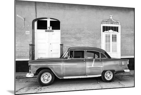 Cuba Fuerte Collection B&W - 266 Street Trinidad II-Philippe Hugonnard-Mounted Photographic Print