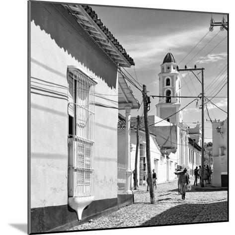 Cuba Fuerte Collection SQ BW - Architecture Trinidad-Philippe Hugonnard-Mounted Photographic Print