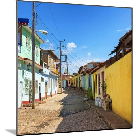 Cuba Fuerte Collection SQ - Colorful Architecture Trinidad-Philippe Hugonnard-Mounted Photographic Print