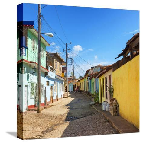 Cuba Fuerte Collection SQ - Colorful Architecture Trinidad-Philippe Hugonnard-Stretched Canvas Print