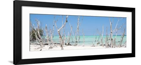 Cuba Fuerte Collection Panoramic - Wild Beach-Philippe Hugonnard-Framed Art Print