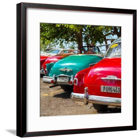 Cuba Fuerte Collection SQ - Havana Vintage Classic Cars-Philippe Hugonnard-Framed Art Print