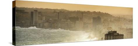 Cuba Fuerte Collection Panoramic - Havana Sunrise III-Philippe Hugonnard-Stretched Canvas Print