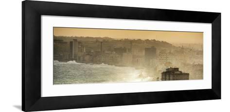 Cuba Fuerte Collection Panoramic - Havana Sunrise III-Philippe Hugonnard-Framed Art Print