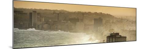 Cuba Fuerte Collection Panoramic - Havana Sunrise III-Philippe Hugonnard-Mounted Photographic Print