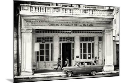 Cuba Fuerte Collection B&W - Centro Andaluz de la Habana-Philippe Hugonnard-Mounted Photographic Print