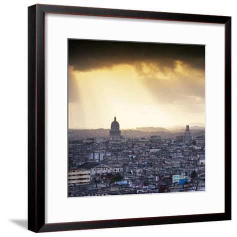 Cuba Fuerte Collection SQ - Havana Sunrise-Philippe Hugonnard-Framed Art Print