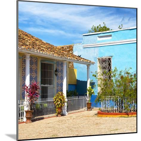 Cuba Fuerte Collection SQ - Colorful Architecture Trinidad III-Philippe Hugonnard-Mounted Photographic Print