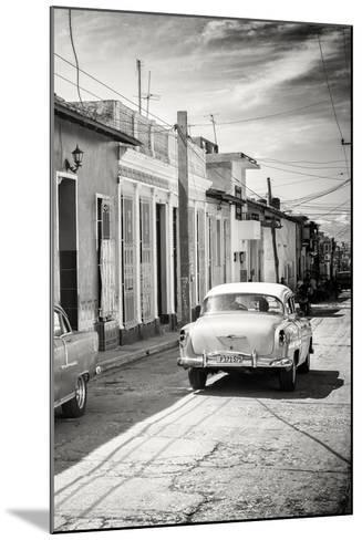 Cuba Fuerte Collection B&W - Sancti Spiritus Street Scene III-Philippe Hugonnard-Mounted Photographic Print