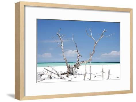 Cuba Fuerte Collection - Beautiful Wild Beach-Philippe Hugonnard-Framed Art Print