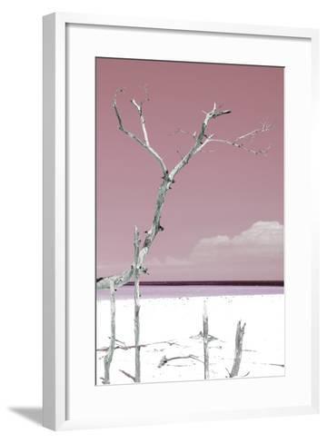 Cuba Fuerte Collection - Hot Pink Serenity-Philippe Hugonnard-Framed Art Print