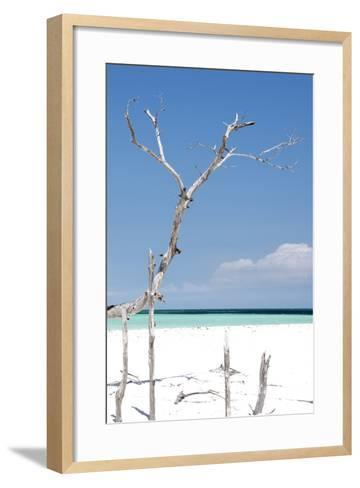Cuba Fuerte Collection - Blue Serenity-Philippe Hugonnard-Framed Art Print
