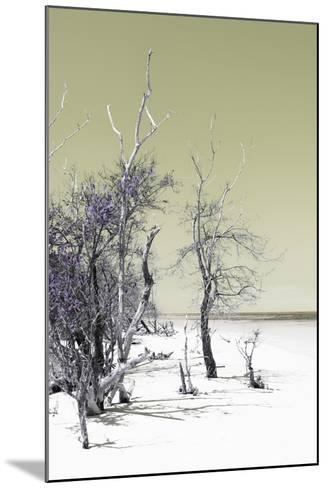 Cuba Fuerte Collection - Sandy Beach Pastel Olive II-Philippe Hugonnard-Mounted Photographic Print