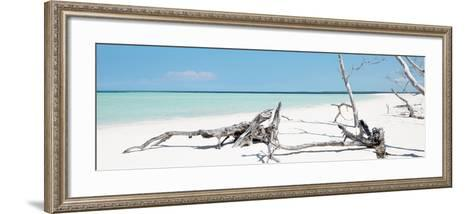 Cuba Fuerte Collection Panoramic - Wild Blue Lagoon-Philippe Hugonnard-Framed Art Print