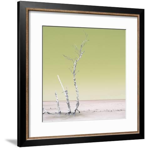 Cuba Fuerte Collection SQ - Ocean Nature - Pastel Yellow-Philippe Hugonnard-Framed Art Print
