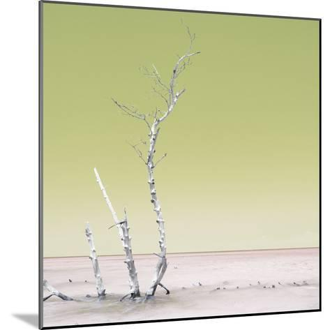 Cuba Fuerte Collection SQ - Ocean Nature - Pastel Yellow-Philippe Hugonnard-Mounted Photographic Print
