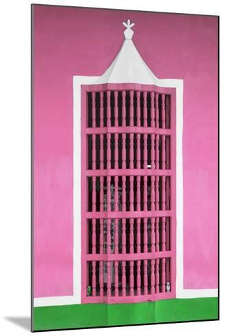 Cuba Fuerte Collection - Pink Window-Philippe Hugonnard-Mounted Photographic Print