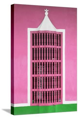 Cuba Fuerte Collection - Pink Window-Philippe Hugonnard-Stretched Canvas Print