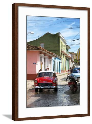 Cuba Fuerte Collection - Cuban Street Scene V-Philippe Hugonnard-Framed Art Print
