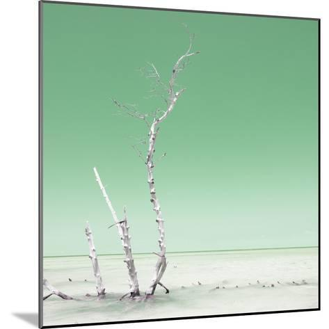 Cuba Fuerte Collection SQ - Ocean Nature - Pastel Green-Philippe Hugonnard-Mounted Photographic Print