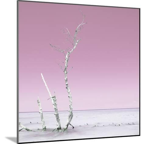 Cuba Fuerte Collection SQ - Ocean Nature - Pastel Pink-Philippe Hugonnard-Mounted Photographic Print