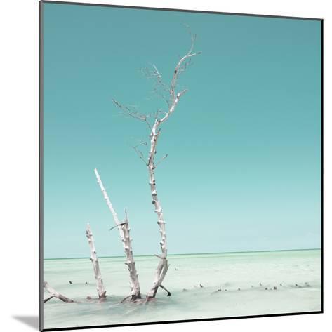 Cuba Fuerte Collection SQ - Ocean Nature - Pastel Aquamarine-Philippe Hugonnard-Mounted Photographic Print