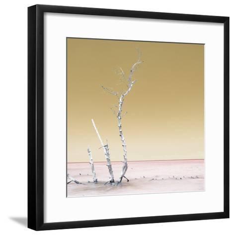 Cuba Fuerte Collection SQ - Ocean Nature - Pastel Orange-Philippe Hugonnard-Framed Art Print