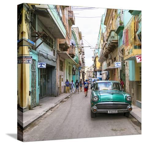 Cuba Fuerte Collection SQ - Havana Centro-Philippe Hugonnard-Stretched Canvas Print